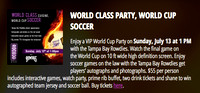 ROCOCO World Class Party, World Cup Soccer