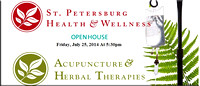 St. Petersburg Health and Wellness Open House 7/25/14